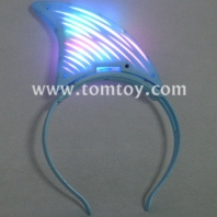 led shark fin headband tm101-001