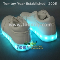 led shoes flashing sneakers tm112-001-wt