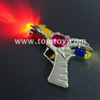 led silver pocket pistol with sounds tm00446