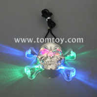 led skull necklace tm129-031