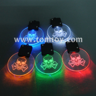 led skull transparent pendant tm00481