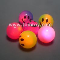 led smiley face bouncing balls tm034-008