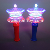 led snowflake spinning wand tm04452