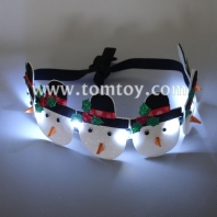 led snowman flashing headband tm02993