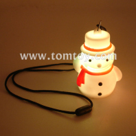 led snowman necklace tm00022