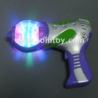 led space gun with spinning ball tm021-001-pur