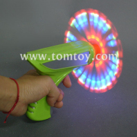 led space gun with spinning lights tm062-009
