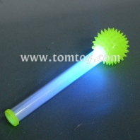 led spiky ball massage stic tm056-001-yl