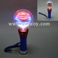 led spinner wand-stars and stripes tm101-152