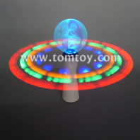 led spinner wand with christmas bells tm04272