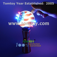 led spinning wand usa flag tm052-075