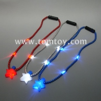 led star beaded necklace tm02635