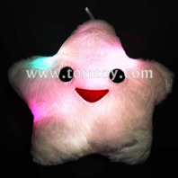 led star shaped glowing cushion tm121-003