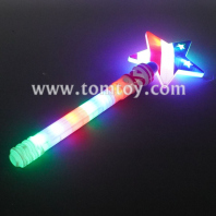 led star wand with american flag tm06789