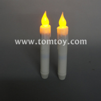 led taper candle with timer tm04369