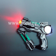 led transformed gun toys with flashing lights tm02228