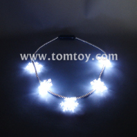 led twinkle snowflake necklace tm02779