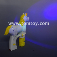 led unicorn bubble gun toys tm03287