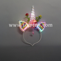 led unicorn headband tm04320