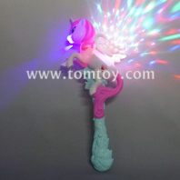 led unicorn spinner wand tm04084
