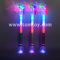led unicorn wand with prism ball tm04464