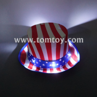 led usa flag hat tm02699