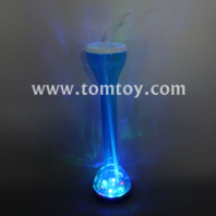 led yard drinking cup with straw tm040-001-bl
