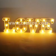 letter love led night light tm06493