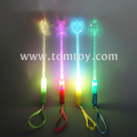 light up acrylic stick with bubbles tm05796
