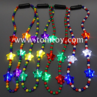 light up beads necklace assorted tm04386