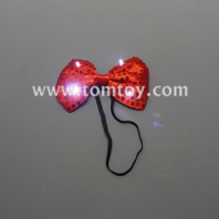 light up bow tie tm02709-rd