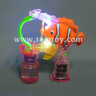 light up bubble gun-fish tm067-002