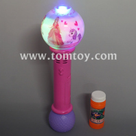 light up bubble wand unicorn and princess tm04651