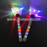 light up butterfly spinning wand tm04450