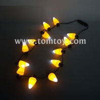 light up candy corn necklace tm101-162