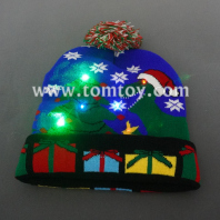 light up christmas knitted hat tm06906