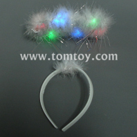 light up coloured lamp angel headbands tm00302