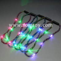 light up crack bead necklace tm02634