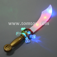 light up curved pirate saber tm013-061