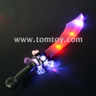 light up curved pirate sword tm013-059