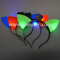 light up cute cat ears hair band tm02936