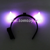 light up devil horns headband tm050-004-pk