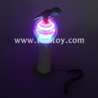 light up dinosaur spinning wand tm06369