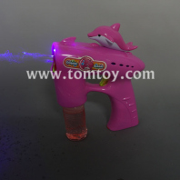 light up dolphin bubble gun tm04463