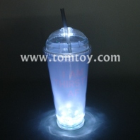 light up drink cup with straw tm242-002