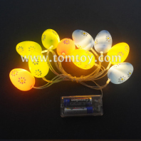 light up easter egg string lights tm06989