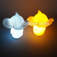 light up elephant night light tm05981