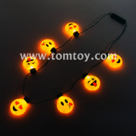 light up emoji necklaces tm02853