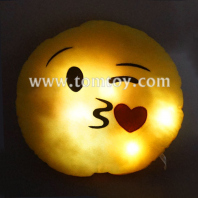 light up emoticon plush emoji pillow tm03191