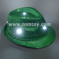 light up fedora hats tm000-051-gn